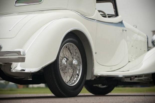 Delage D8S Roadster Detail