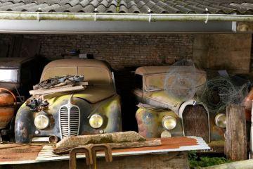 Delahaye GFA 148 L et Talbot Lago Baby Cabriolet par Guillore