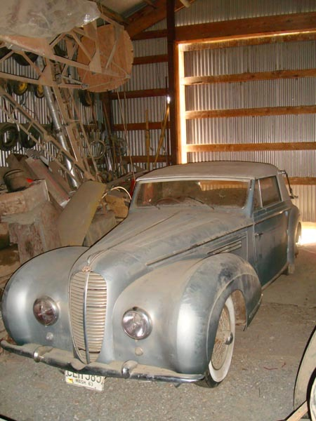 Barn Find Delahaye Added To Worldwide Auburn Auction