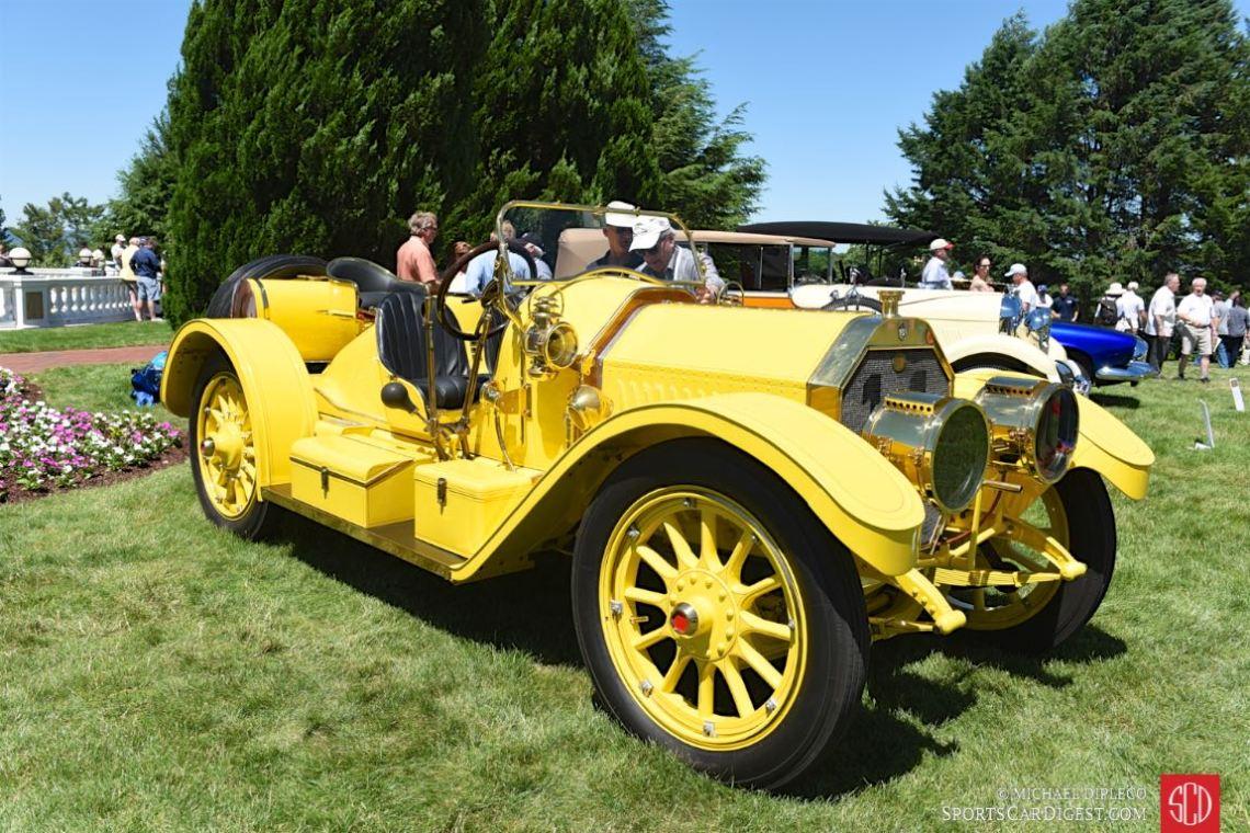 1911 Oldsmobile Autocrat Yellow Peril.