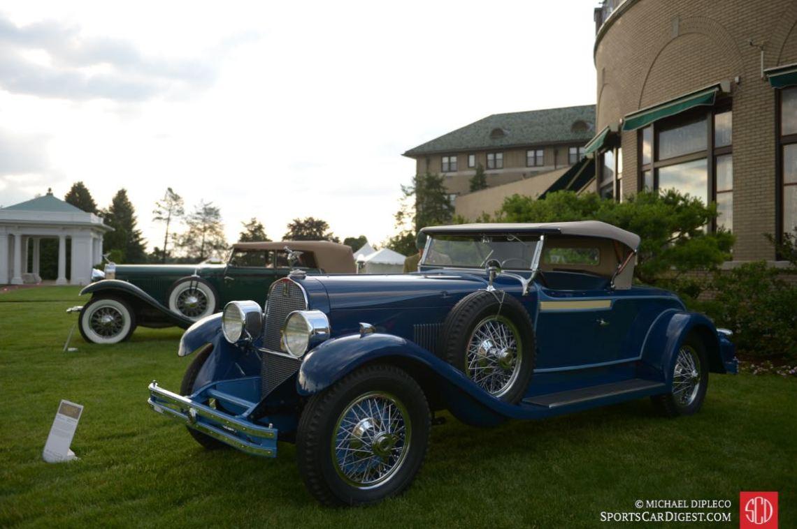 1929 DuPont Model G Roadster by Waterhouse.