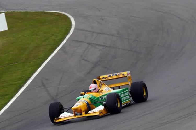 1992 Benetton B192 – Ex Michael Schumacher. Image: Matt Sayle
