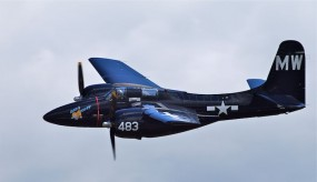Grumman F7F Tigercat Bad Kitty