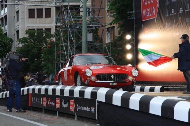 Ferrari 250 GT Lusso - Omer Akyol Faruk and Mario Vignali