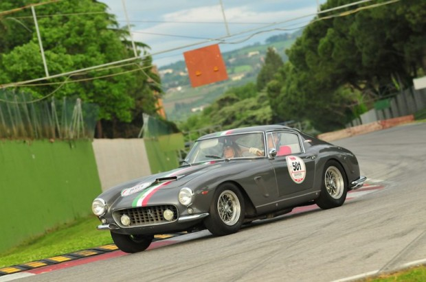 1958 Ferrari 250 GT SWB at Fiorano