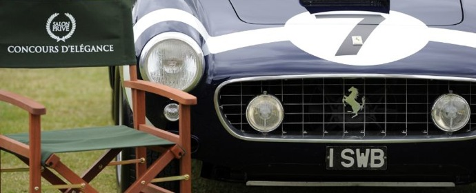 Ferrari 250 GT SWB Comp at Salon Prive 2011