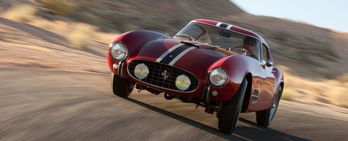 Ferrari 250 GT TdF Offered at RM Auctions Monterey 2012