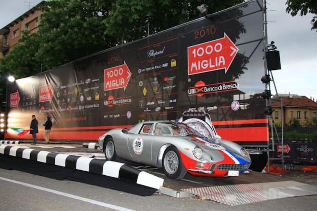 Ferrari 250LM - Jean-Jaques Bally and Alan Tanzi
