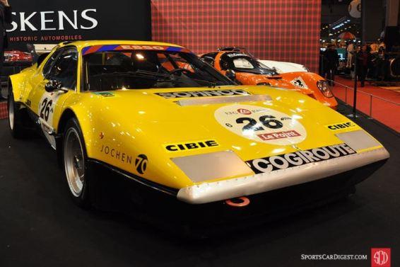 Ex-Ecurie Francorchamps Ferrari 512 BB - 1978