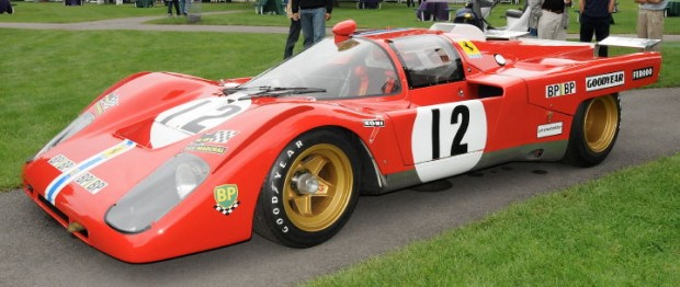 Sam Posey and Tony Adamowicz drove this Ferrari 512M to a 3rd place finish at the 1971 24 Hours of Le Mans