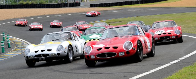 Vintage Cars In Garage Wallpaper Hd Ferrari 250 Gto Tour At Le Mans Classic Photo Gallery