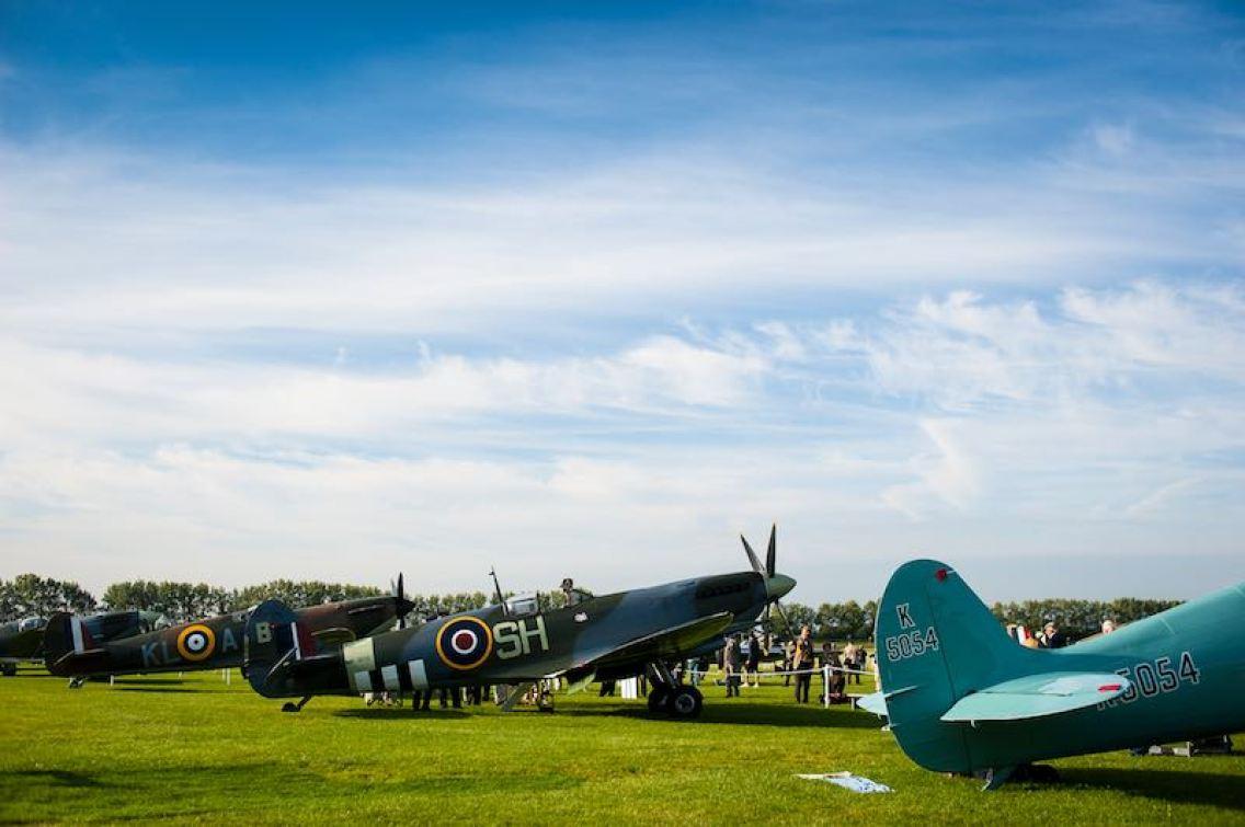 Freddie March Spirit of Aviation exhibition (photo: Matt Jacques)