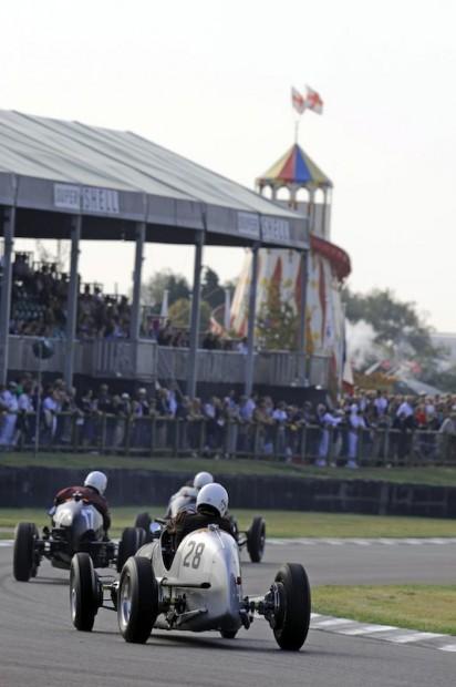 Sean Danaher - Maserati 6CM tries to make up ground