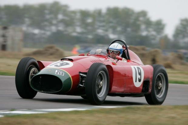 Jochen Mass was again in the Lancia-Ferrari D50A