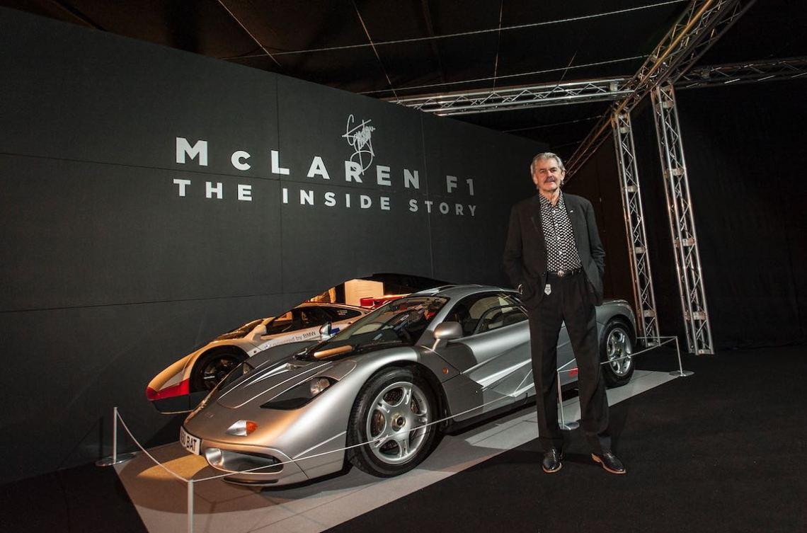 Gordon Murray and the McLaren F1 supercar