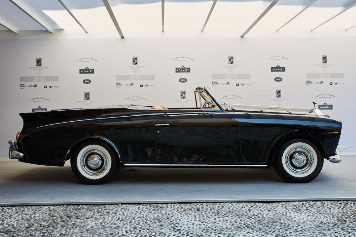 1958 Rolls-Royce Silver Cloud I Convertible by Freestone and Webb