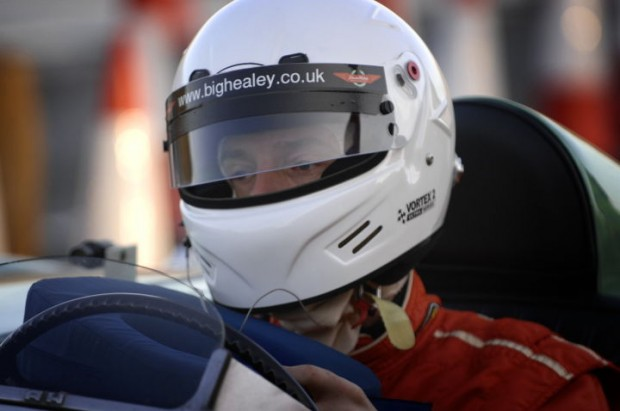 Driver and Engineer Jeremy Welch