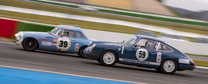 Porsche 911 and MG B