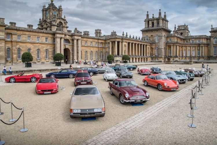 Hope Classic Rally 2015 at Blenheim Palace