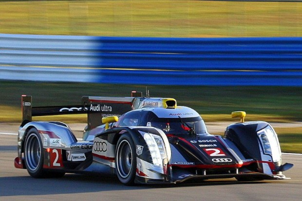 The Audi R18. Beautiful in a brutal, take no prisoners sort of way.