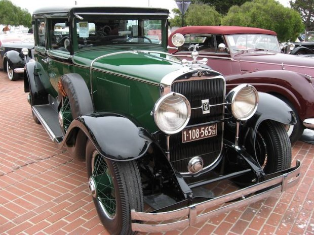1928 Cadillac 341 V-8 Town Sedan