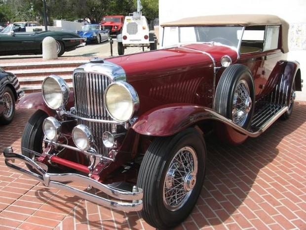 1931 Duesenberg Model J Convertible Sedan, Body by Murphy