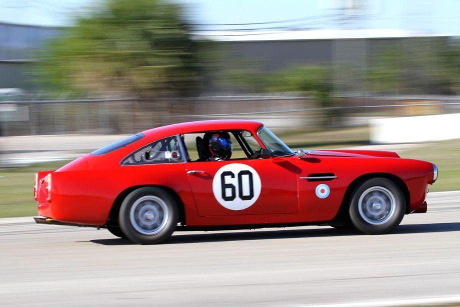 Patrick Bean, 1959 Aston Martin DB4