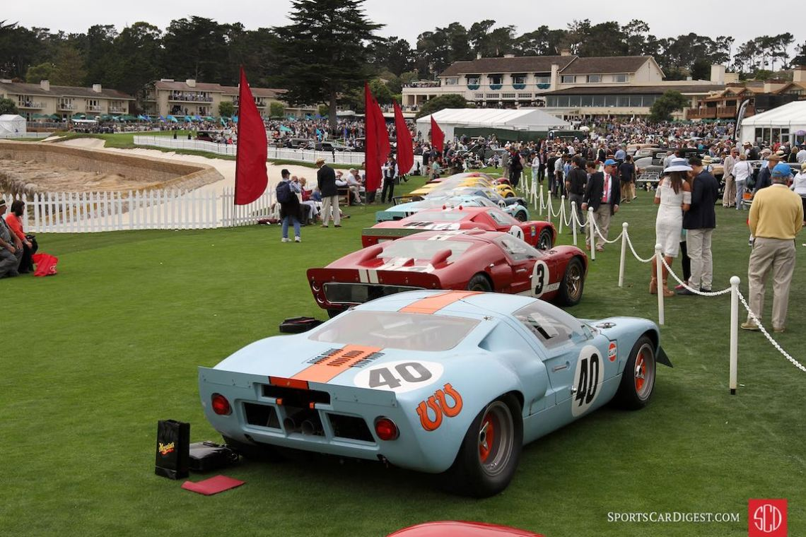 Ford GT40 Class - 2016 Pebble Beach Concours d'Elegance