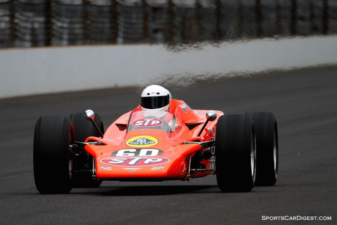 Bruce Linsmeyer, 68 Lotus 56 Turbine Indy Car.
