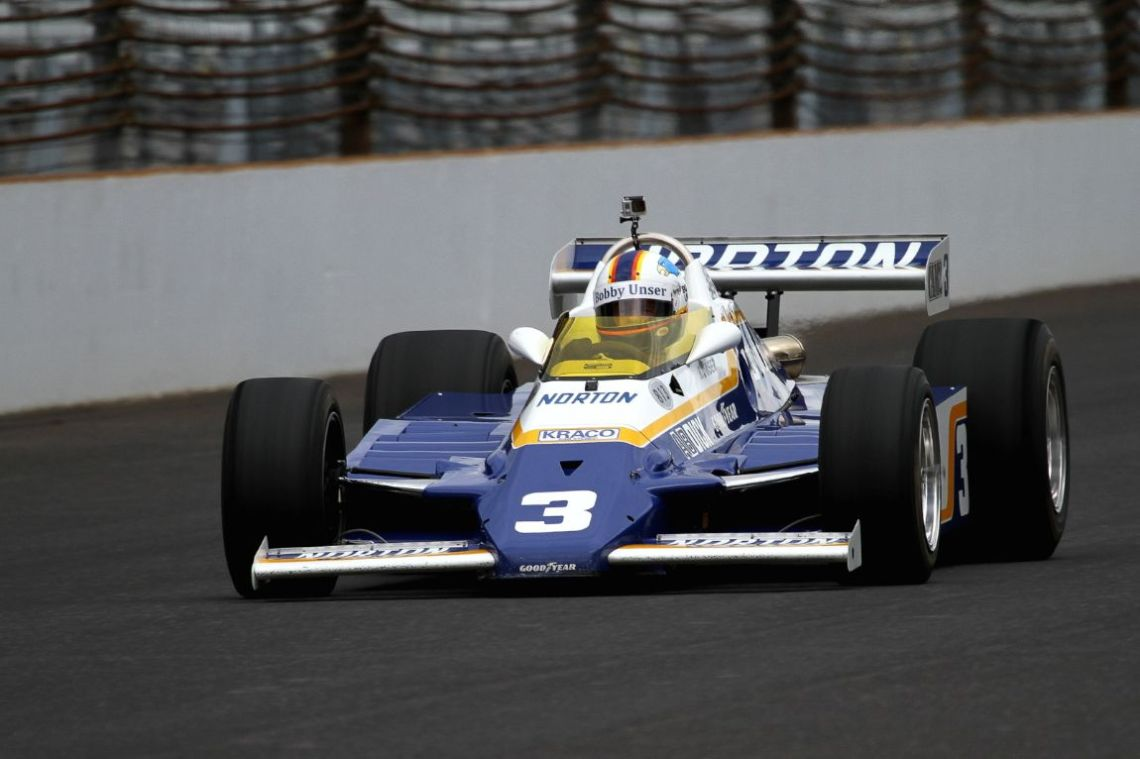 Tom Malloy(?), 81 Penske PC-9B