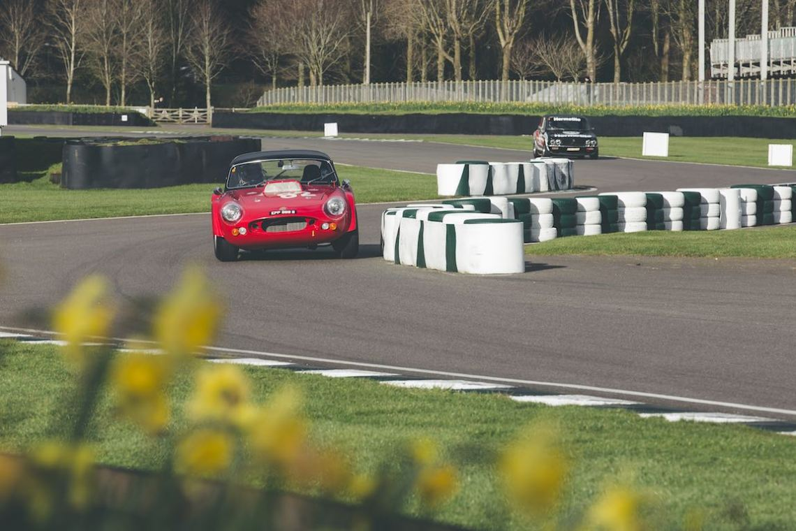 David Brabham in the 1965 Ginetta G10 (photo: Tom Shaxson | Goodwood Road and Racing)