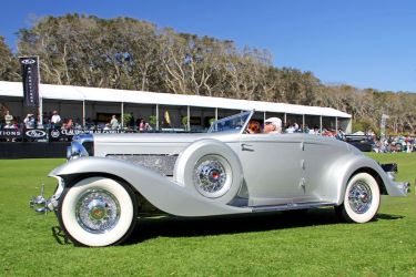 1936 Duesenberg SJ, Best of Show at the 2013 Amelia Island Concours d'Elegance (photo: Al Wolford)