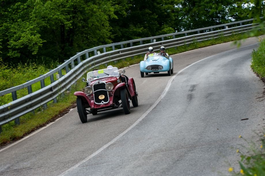 1931 Fiat 514 MM and 1938 Fiat 500 A Sport