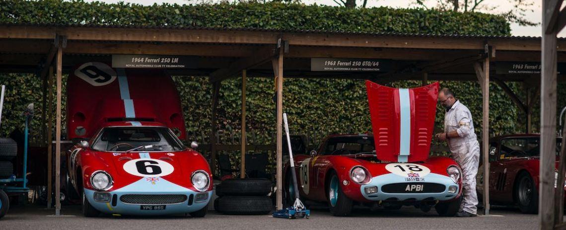 Ex-Maranello Concessionaires 1964 Ferrari 250 LM and 1963 Ferrari 250 GTO/64