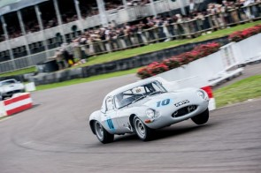 Jaguar E-Type at Goodwood