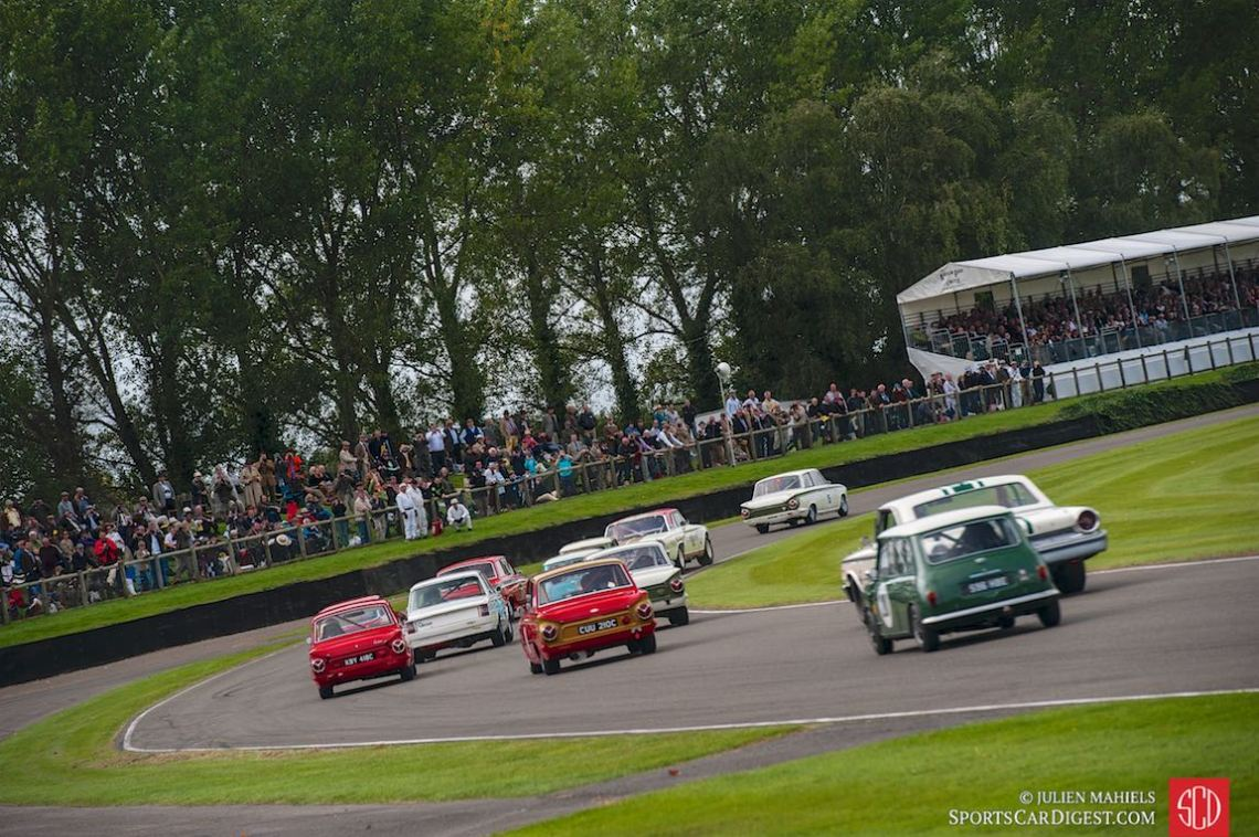 Start of the St. Mary's Trophy at the Goodwood Revival 2015
