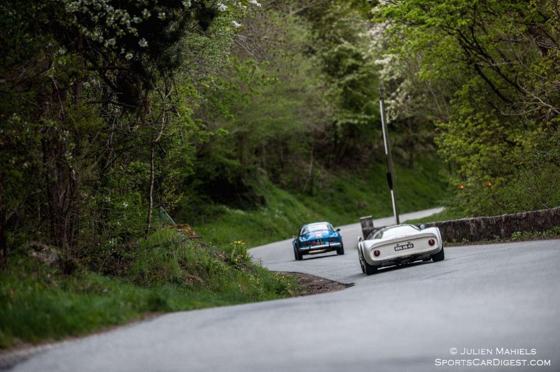 Porsche 906 and Alpine Renault A110 1600 S