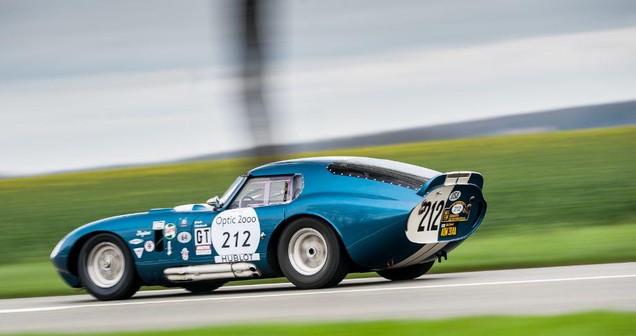 1964 Shelby Daytona Cobra Coupe at 2013 Tour Auto Rally