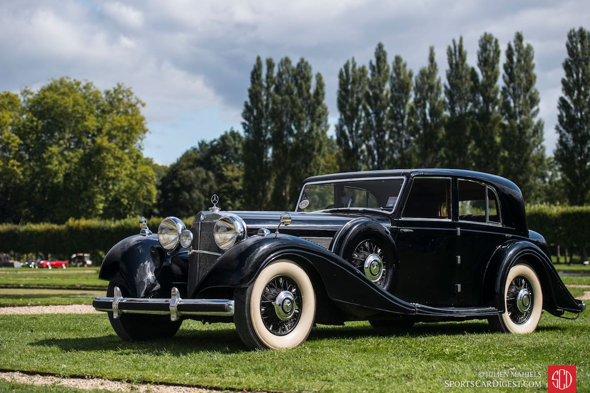 Chantilly concours d 39 elegance 2015 photos results for Mercedes benz chantilly