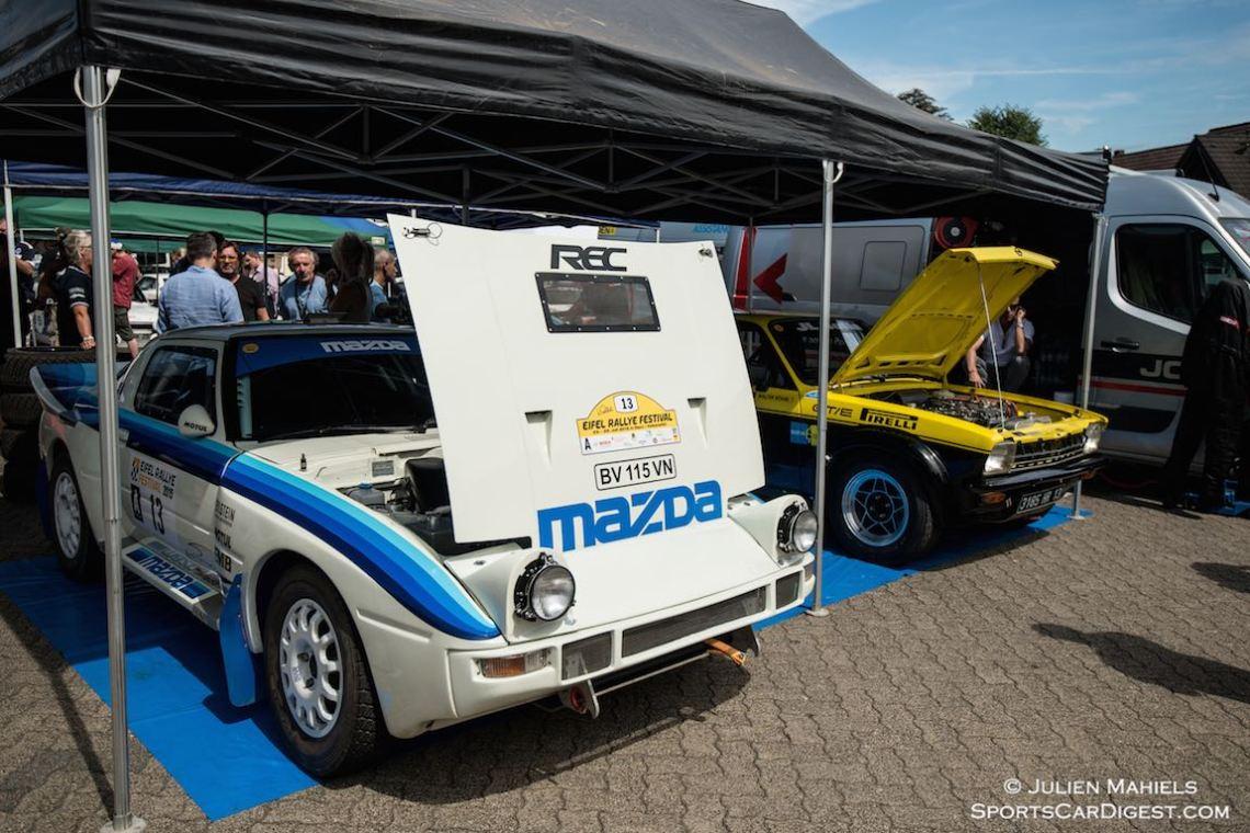Ex-Mazda Rallye Team Europe 1984 Mazda RX-7, chassis 05