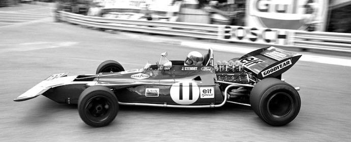 Jackie Stewart, 1971 Monaco Grand Prix, Tyrrell 003