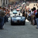 Jaguar Works Team Supports 2010 Mille Miglia