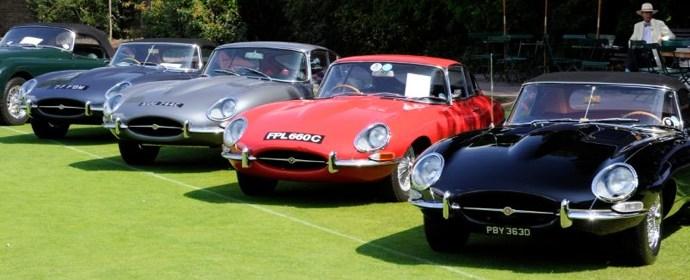 Jaguar E-Types at London Concours 2011