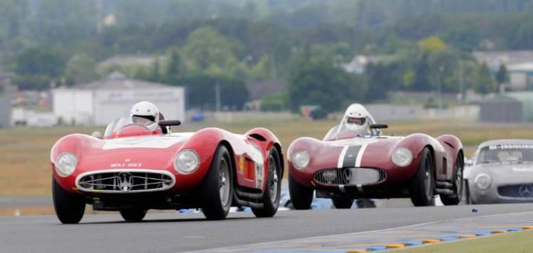 Maseratis at Le Mans Classic