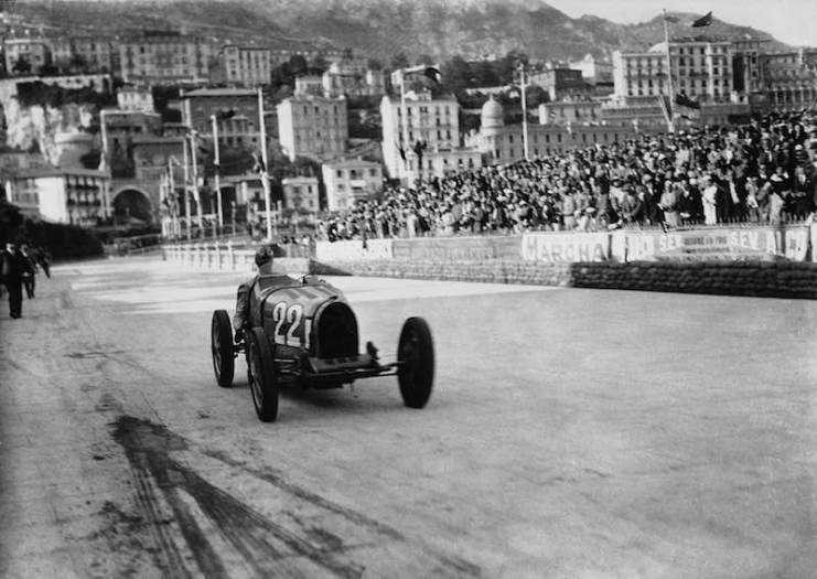 In 1931 Louis Chiron won the Monaco Grand Prix, the first and to date the only Monegasque to do so. He drove a Bugatti Type 51.