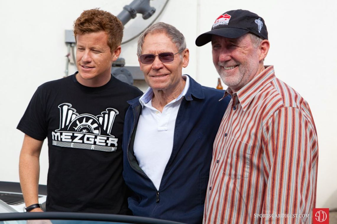 From left to right, Patrick Long, Andial's Dieter Inzenhofer and Jeff Zwart (Photo: Victor Varela)