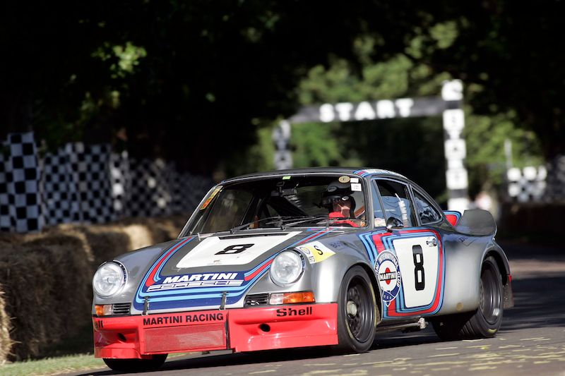 Martini Racing Cars At 2013 Goodwood Festival Of Speed