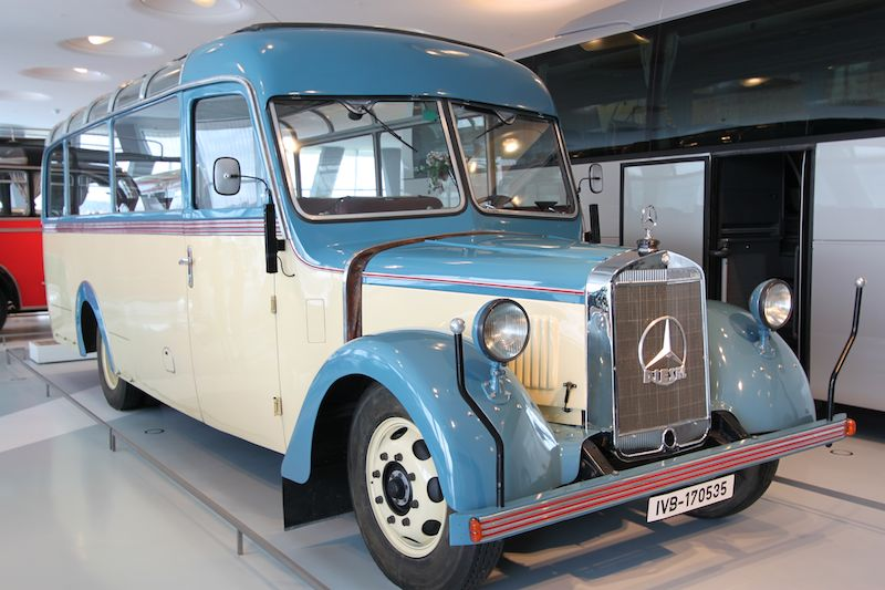 Mercedes benz museum profile and photos for Mercedes benz touring coach