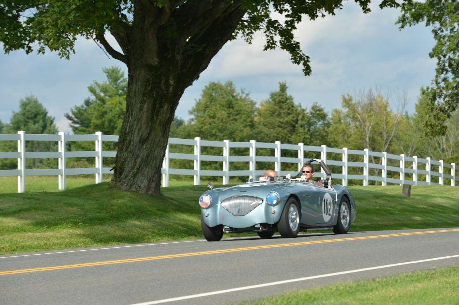 1956 Austin-Healey 100/4.