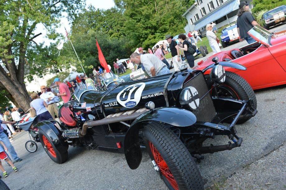 1929 Stutz Pikes Peak Special at Lime Rock Historics Welcome Party